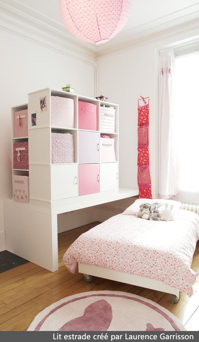 Création lit estrade pour chambre d\'enfants - LA DECORRUPTIBLE